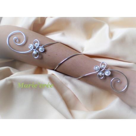 bracelet poignet fantaisie reglable mariee