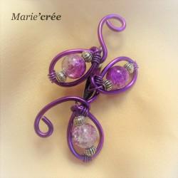 broche epinglette fantaisie perle
