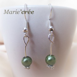 Boucles d'oreilles ARIELLE (collection fillette)