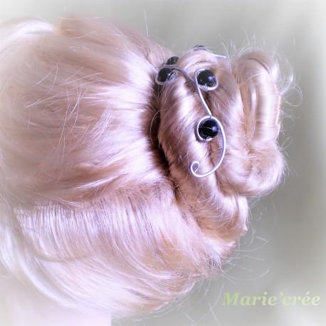 pic accessoire cheveux chignon